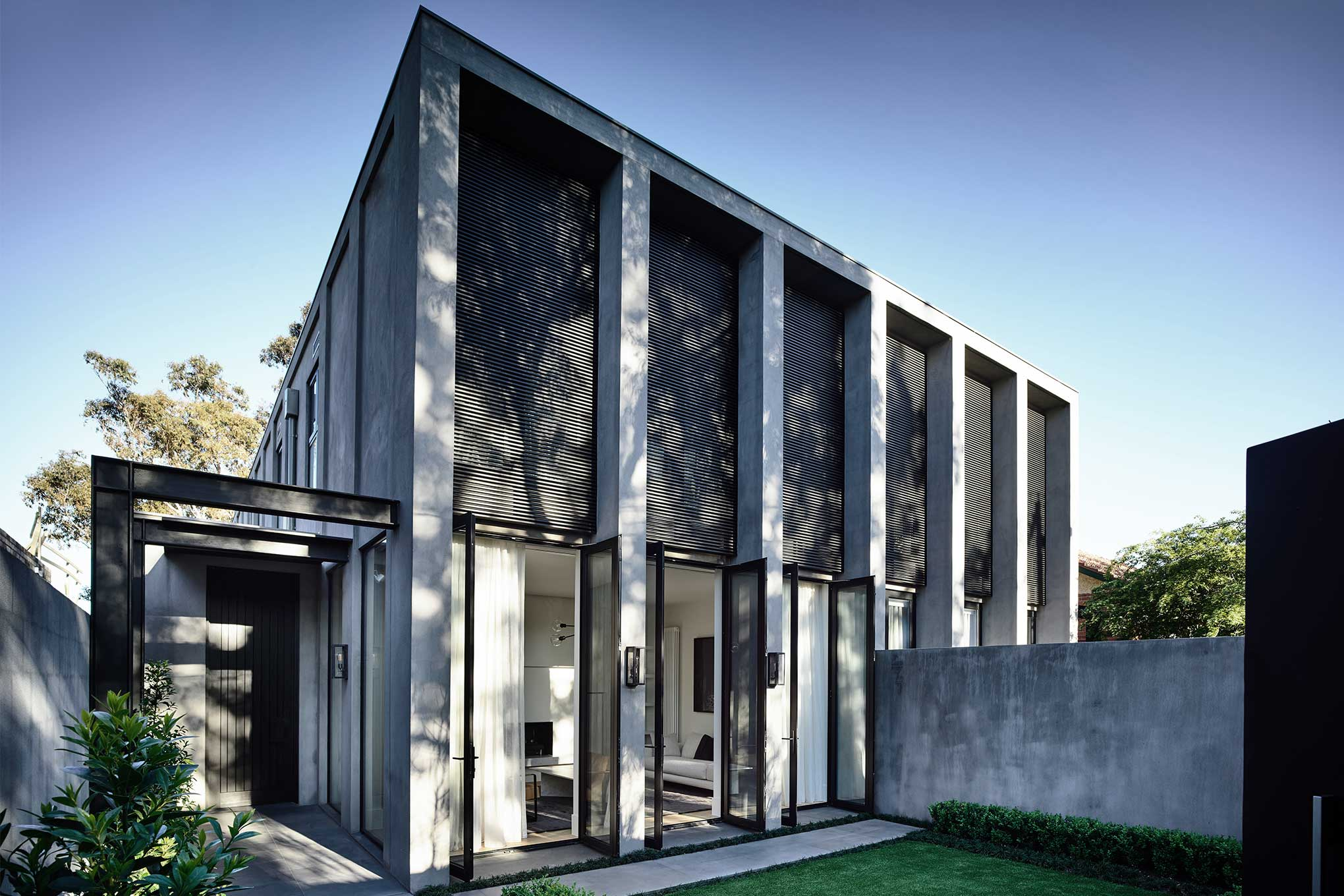 conrad architects  u2014 project   hornsby residence